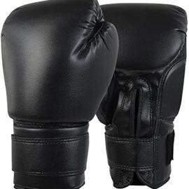 Boxing Gloves for Men Women,Leather Boxing Gloves