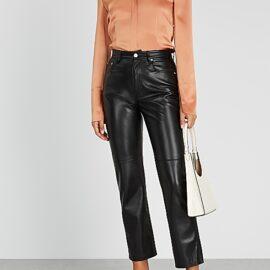 Women Faux Leather Pants