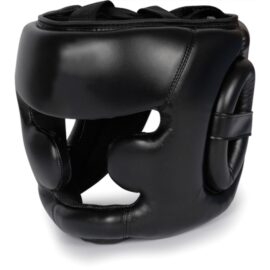 Boxing Headgear, Synthetic Leather MMA Headgear