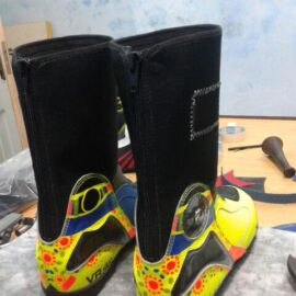 Motorbike Shoes leather